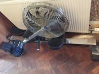 V-fit chain operated air rowing machine