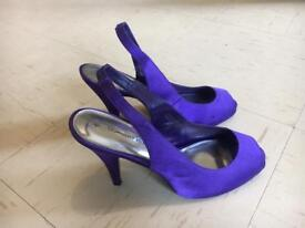 DOROTHY PERKINS ladies women's purple 6 NEW heels shoes topshop river