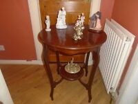 edwardian window table
