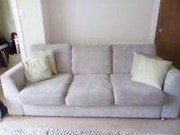 Used Freya suite sofa cuddle chair and large footstool £700 for 3 piece