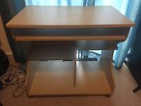 Desk with pull out shelf, £10, Deptford/Greenwich