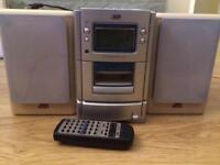 JVC CD, radio, tape or auxiliary chord player
