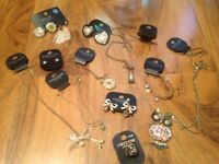 Job lot jewellery topshop new look all new with tags over £80 necklace earrings