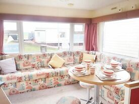 8 BERTH STATIC CARAVAN FOR SALE AT SANDY BAY HOLIDAY PARK! AMAZING NEW FACILITIES! 12 MONTH SEASON!
