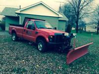 2008 ford plow truck
