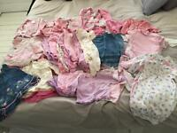 Baby girl 0-3 month clothing over 50 items