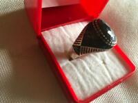 Real silver 925 real silver ring for Men's brand new with box £35