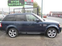 LAND ROVER RANGE ROVER SPORT 3.0 SDV6 HSE LUXURY Auto [Lux Pack], (baltic blue) 2012