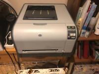 HP Color LaserJet CP1514n Printer with toner