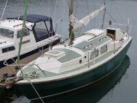 Westerly Chieftain Bilge Keel Sailing Yacht/Boat/Cruiser