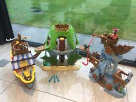 Jake and The Neverland Pirates Playset