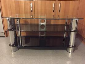 Glass TV stand (3 tiers)