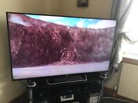 65 inch Sony Bravia Tv fully working can be seen working
