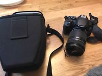 Camera Canon 650d with lens 18-135mm excellent condition