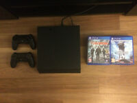 PS4 (1TB) + 2 controllers & 11 Games (Uncharted 4, Star Wars Battlefront, The Last of Us, Fifa etc)