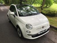 ***FIAT 500 LOUNGE 2012 ONLY 49,000MILES***