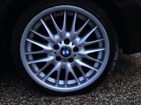 Good condition BMW MV1 alloys x4