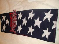 Scarf from the usa never worn stars & strips