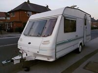 1998 YEAR CARAVAN STERLING EUROPA 2/3 BERTH WITH FULL EQUIPMENT AND AWNING