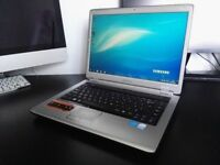 "Samsung laptop 15.4"" Intel Pentium 2x2.0GHz 3GB Ram 160GB HDMI Webcam DVD-RW Wifi Win7 Office 2010"