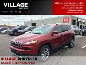 2017 Jeep Cherokee Limited|4x4|Nav|Leather|Panosunroof|Remote