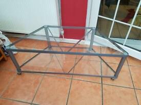 IKEA GLASS TV UNIT