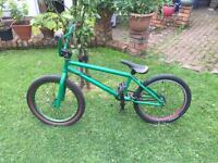 Customised BMX bike