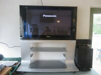 "37"" Panasonic HD Flat Screen TV with Stand - Good Condition"