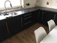 Black Gloss Kitchen Doors