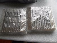 "Bundle 10 x NEW VENT AXIA 6"" 150mm BROWN Fan front cover grills Job Lot Car Boot"