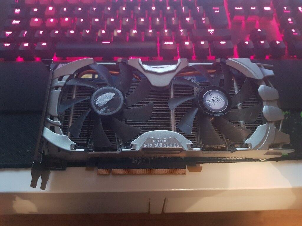 KFA2 Nvidia Geforce GTX 560ti Graphics Card / GPU | in Dunfermline, Fife |  Gumtree