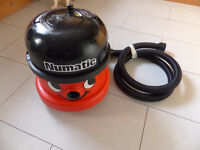 Industrial 110v Henry vacuum cleaner - twin speed.