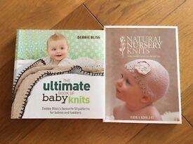 Baby knitting books