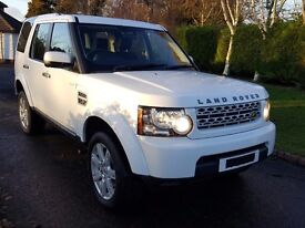 Land Rover Discovery 4- GS 3.0SDV6 Automatic, 7 Seats in White V5, 2Keys, Service History.
