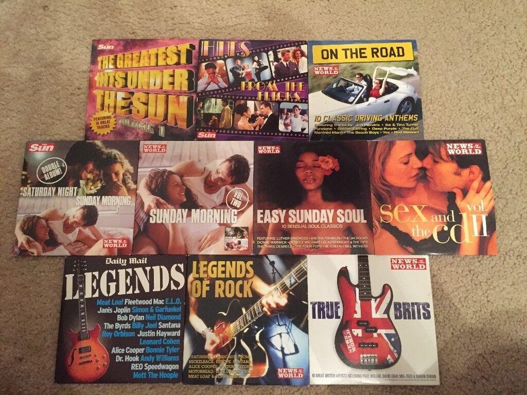 10 Various Music CDs