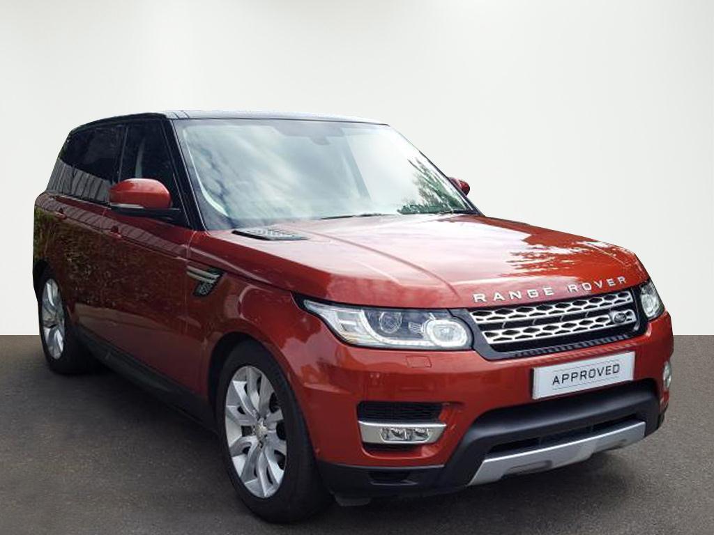 Land Rover Range Rover Sport SDV6 HSE (red) 2014-04-23