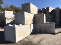 Concrete interlocking lego blocks