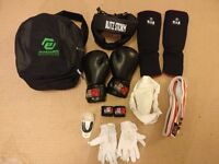 Complete Kickboxing Protective Gear Set