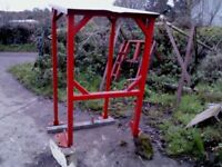roll bar with roof for 135/35 massey tractor in great condition