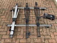 Thule Aero roof bars and Thule Cycle Carriers