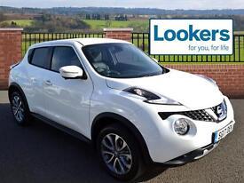 Nissan Juke TEKNA XTRONIC (white) 2017-03-01
