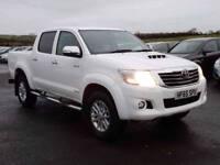 2015 (SEPT) Toyota hilux invincible 3.0 D4-d only 26000 miles, excellent example
