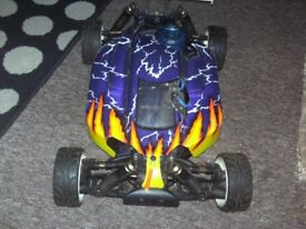 Gs storm 1/8th Nitro ready and running