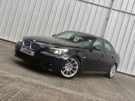 BMW 525d M-Sport | Automatic | IMMACULATE THROUGHOUT | FSH | Carbon Black | HPI CLEAR 520d 530d 535d