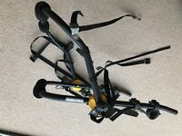 Halfords Boot Rack for up to 3 bikes. Manual adjustments to fit various car/boot variations.