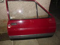 Ford Fiesta Mk2 drivers door