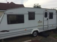 Elddis savanna caravan 4 berth 1998