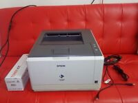Epson AcuLaser M2300DN USED WITH EXTRA NEW TONER INK