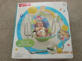 Fisher Price Discover N Grow Open Top Take Along Swing