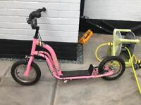 Girls bmx scooter